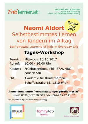 Naomi Aldort Workshop in Wien